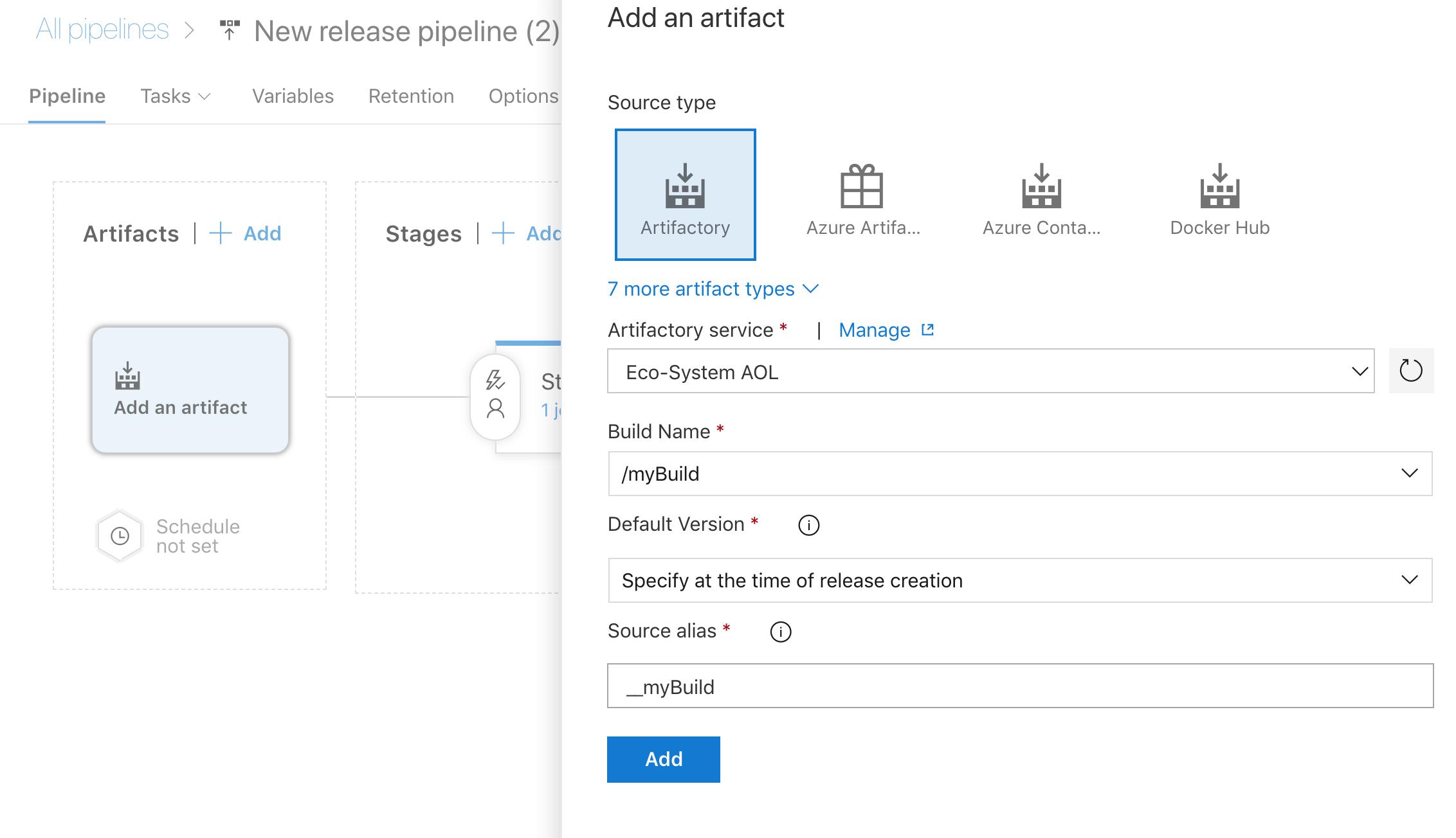 JFrog Artifactory - Visual Studio Marketplace